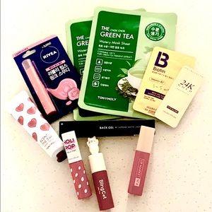Bestselling korean cosmetic bundle